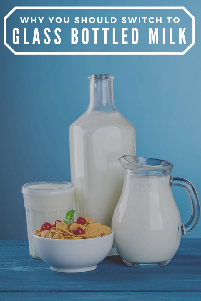 Save the environment and cut down on plastic usage by switching to glass bottled milk from the milkman.