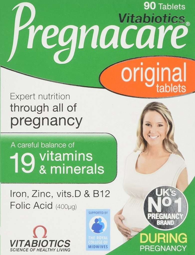 Pregnacare Vitamins are ideal for the first trimester and the entire pregnancy.