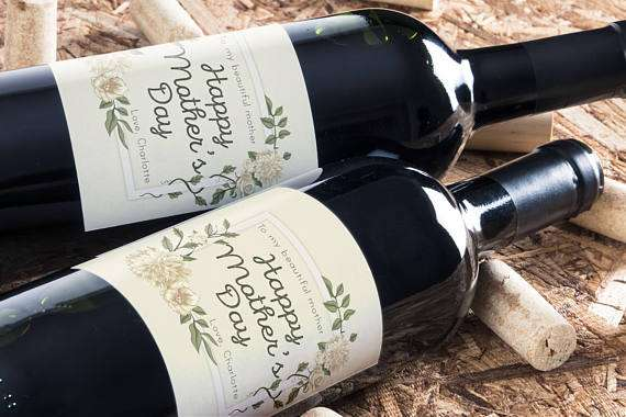 Mother's Day Gifts - Wine Labels