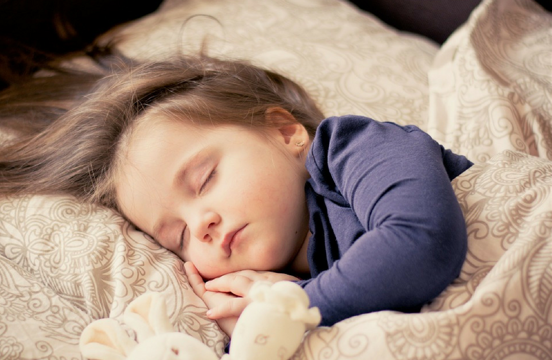 Cute Sleeping Baby or Toddler