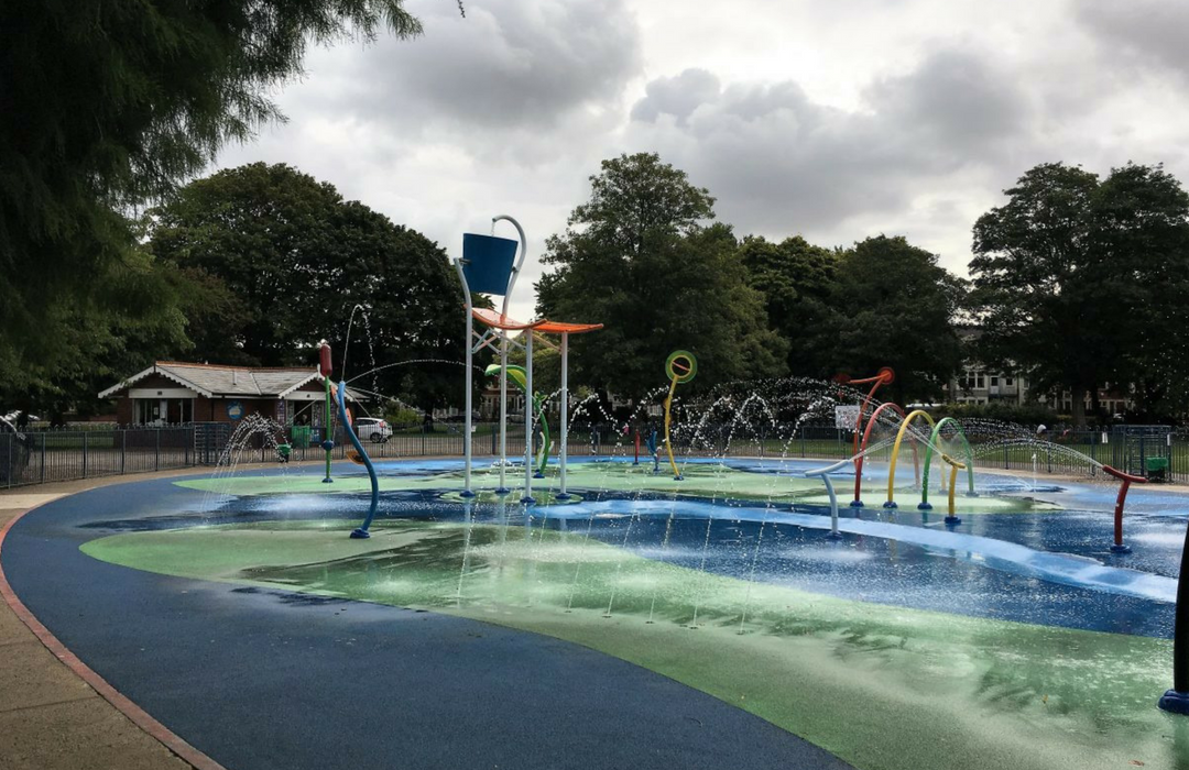 Victoria Park Cardiff Splash Pad Opening Information