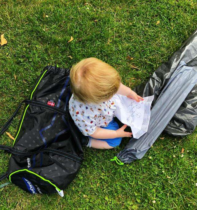 Family camping essentials with a baby