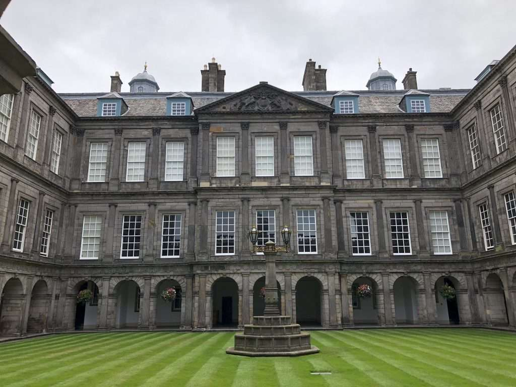 Palace of holyroodhouse or holyrood palace - beautiful history the whole family can visit