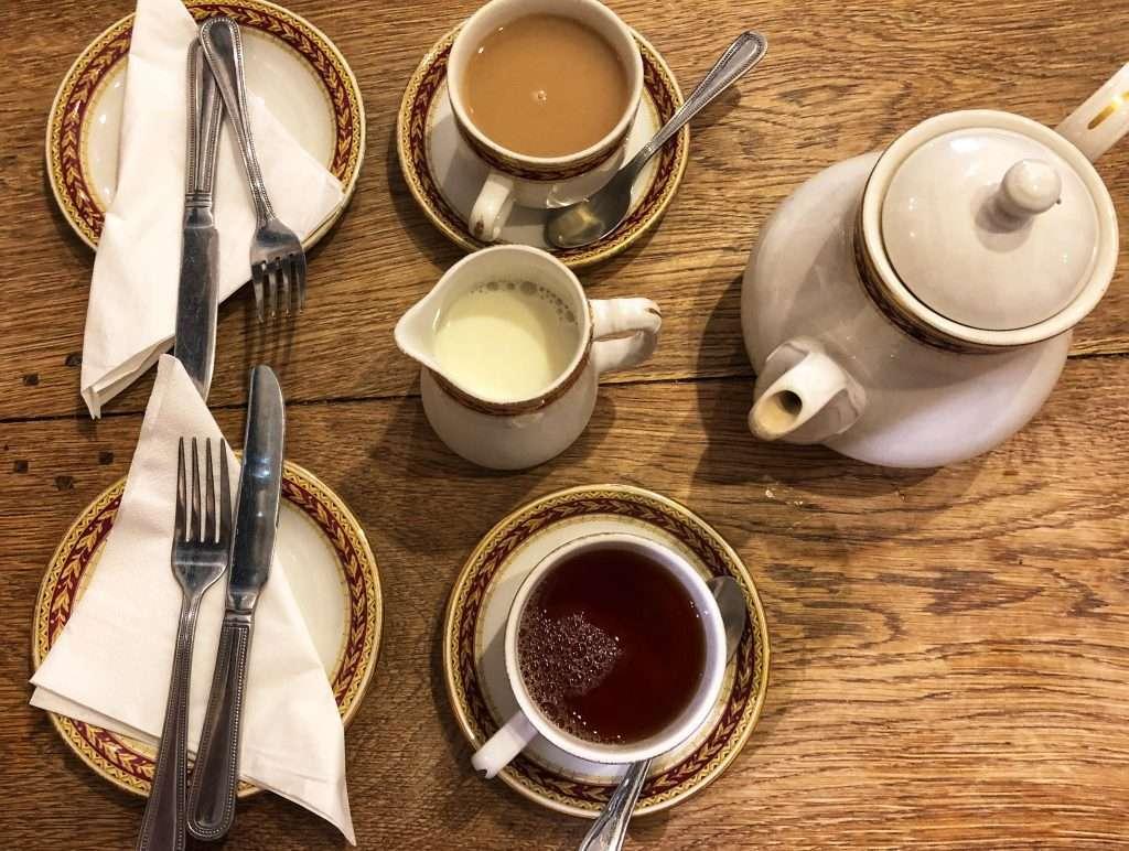 Afternoon Tea at Jaspers Tea Rooms in Llandaff, Cardiff