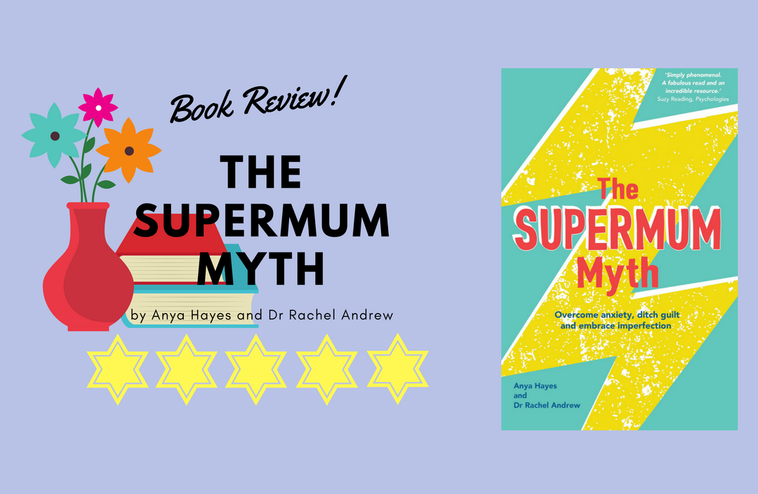 The book cover for The supermum myth