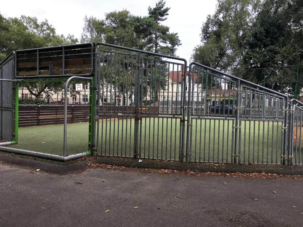Five a side football court