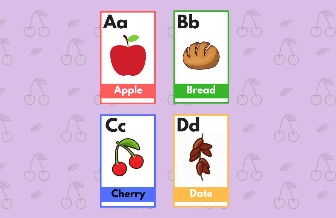 free printable flashcards with pictures pdf