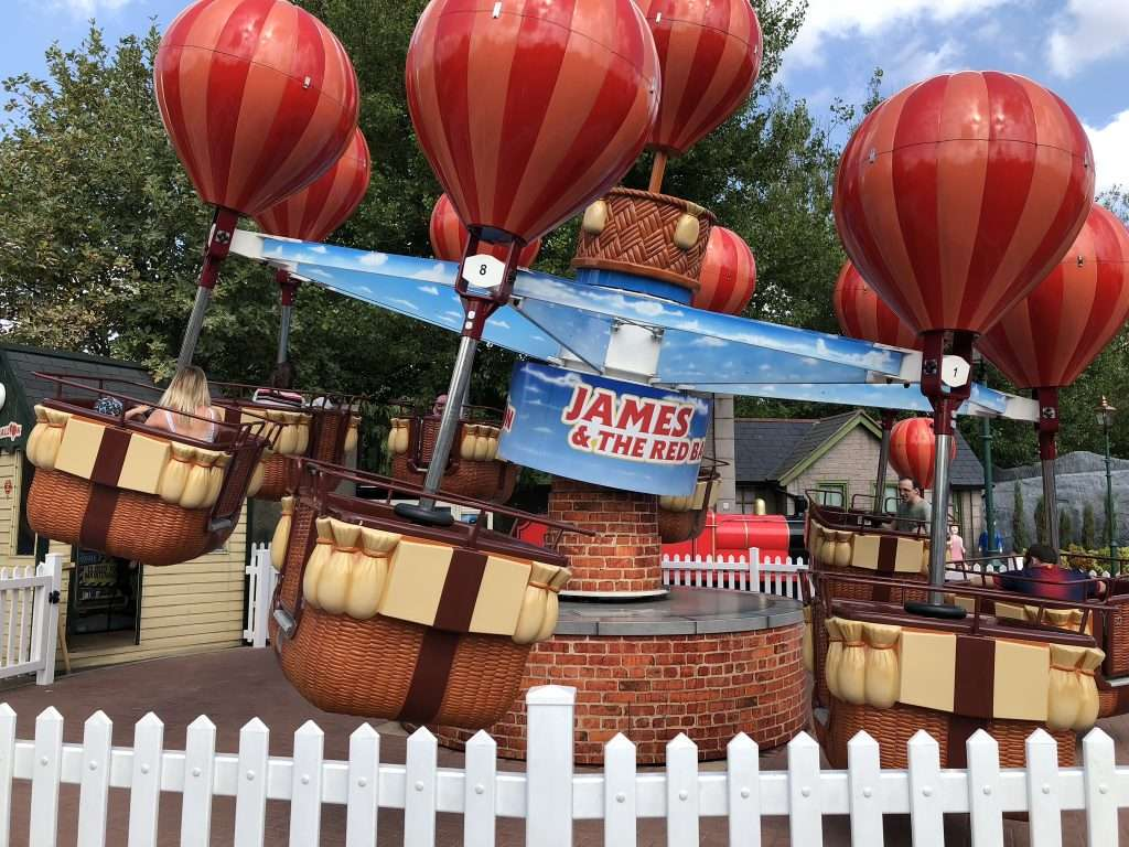 Rides for Toddlers at Thomas Land at Drayton Manor Theme Park and Zoo