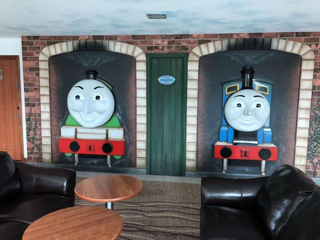 Thomas the Tank Engine Theme at Drayton Manor Hotel