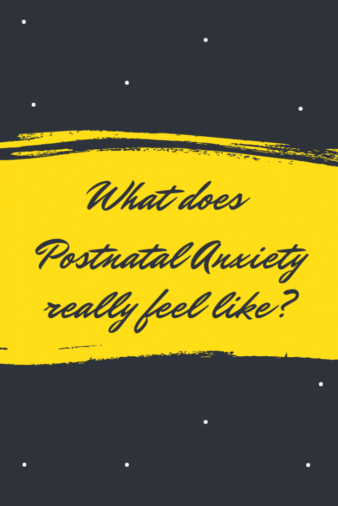 I'm talking about what postnatal anxiety (postpartum anxiety, PNA / PPA) really feels like, how it affected me and how you can start to get help.