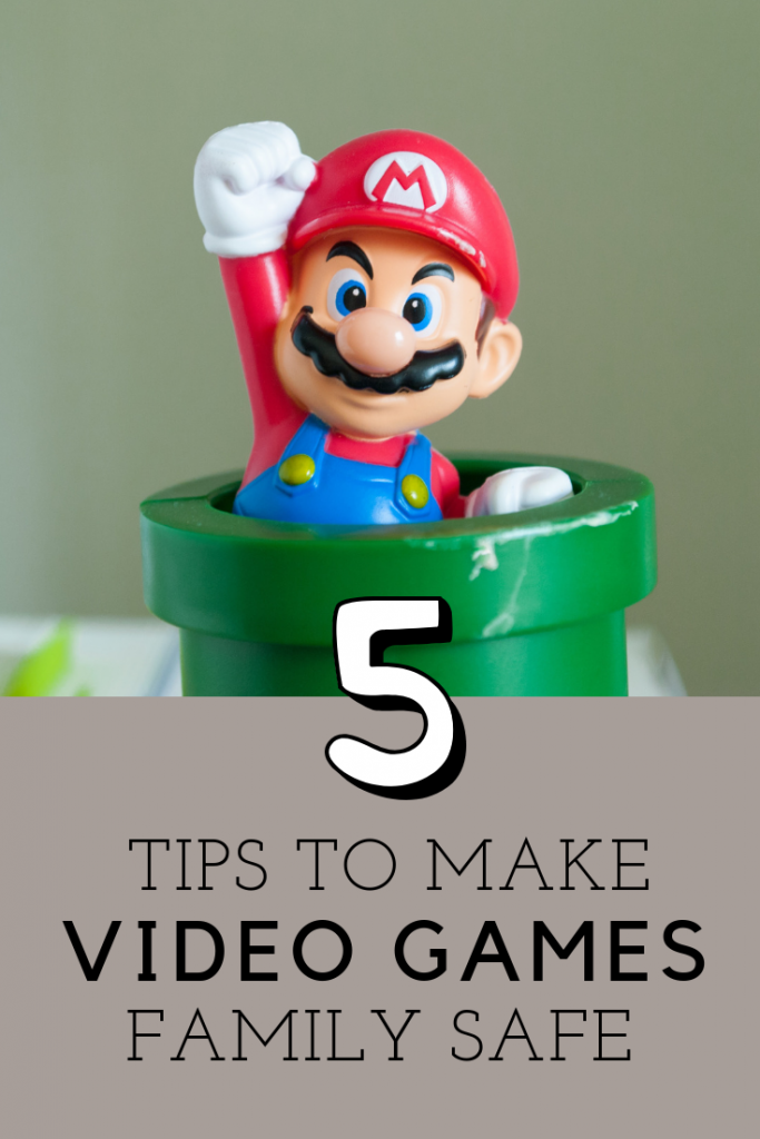5 Tips which will help you make video games safe for the whole family to play.