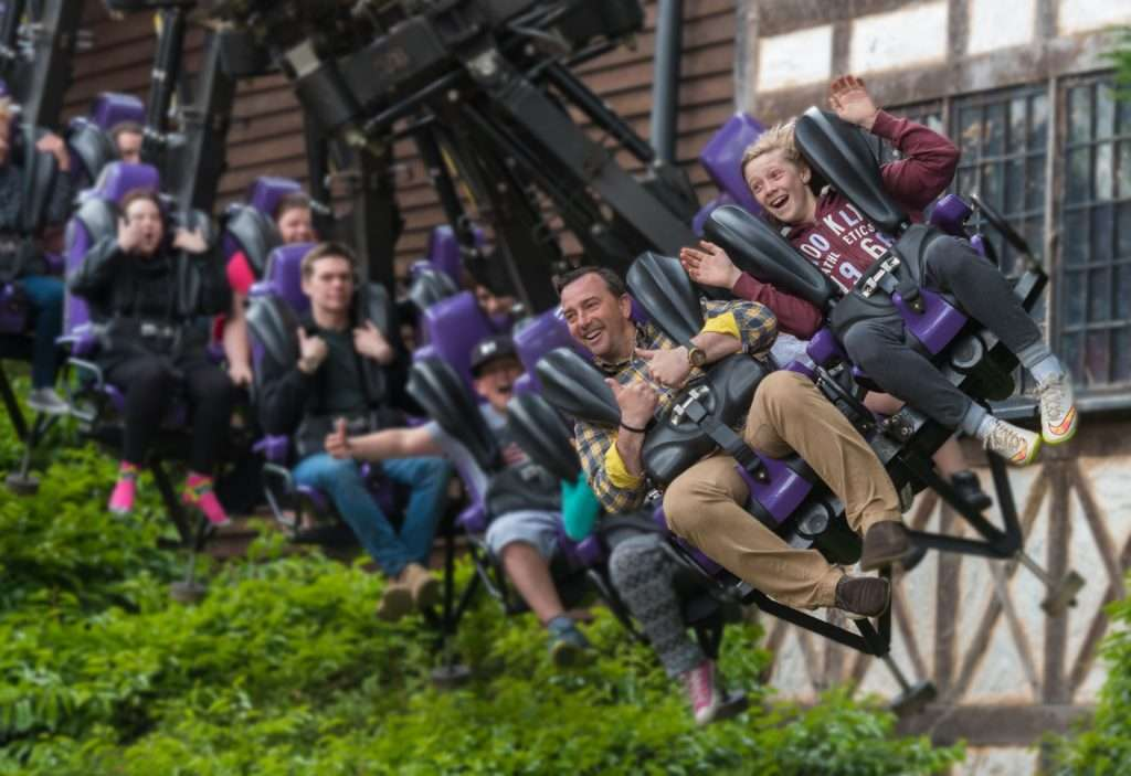 Vampire Ride  at Chessington World of Adventure Theme Park, Zoo and Sea Life Centre