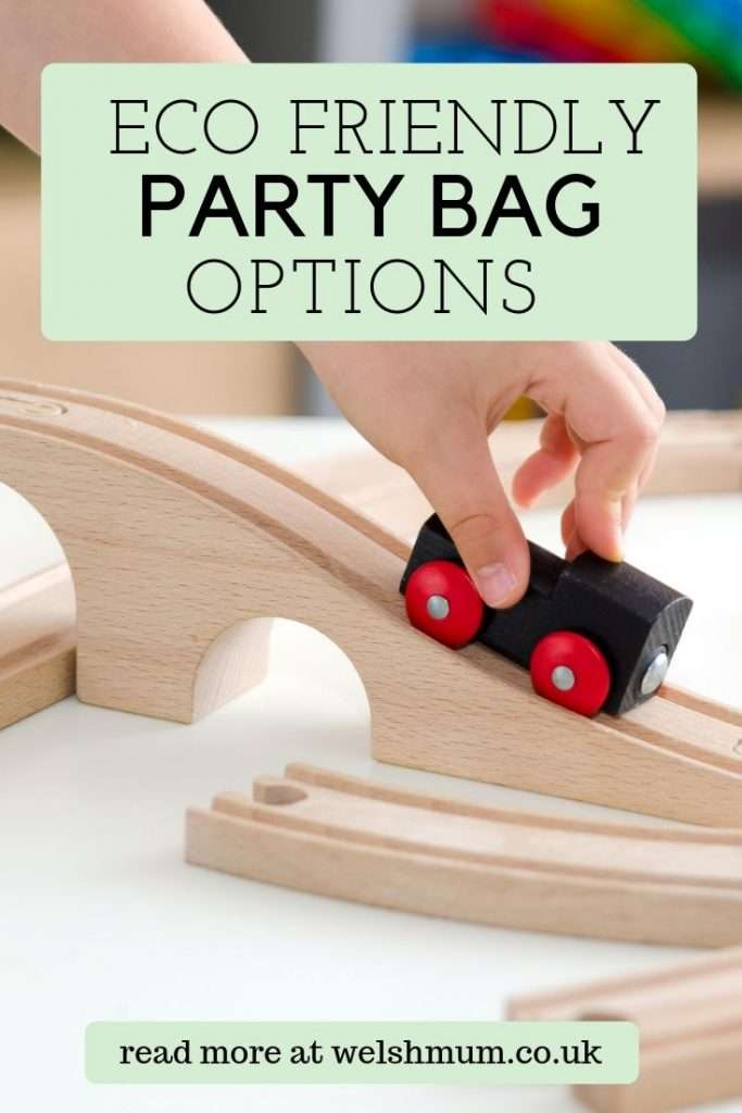 Eco Friendly Party Bag Options - Top tips to create an entertaining and thoughtful party bag for a children's birthday party that's also zero waste and plastic free!
