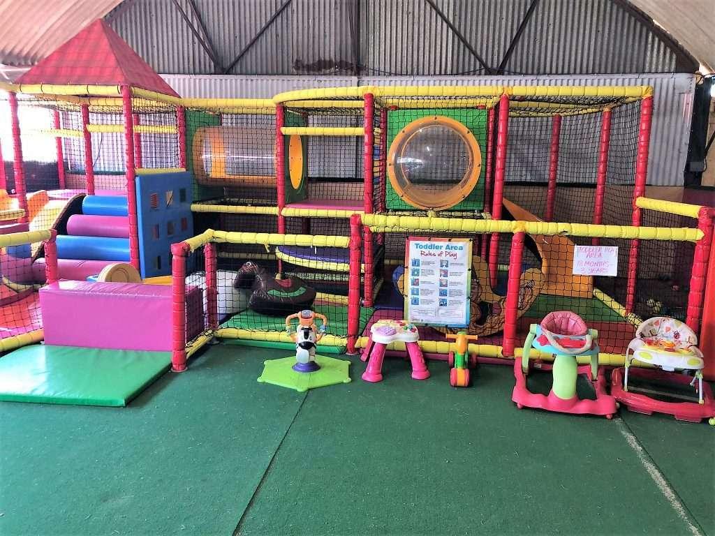 Raglan Farm Park Review - Toddler Soft Play