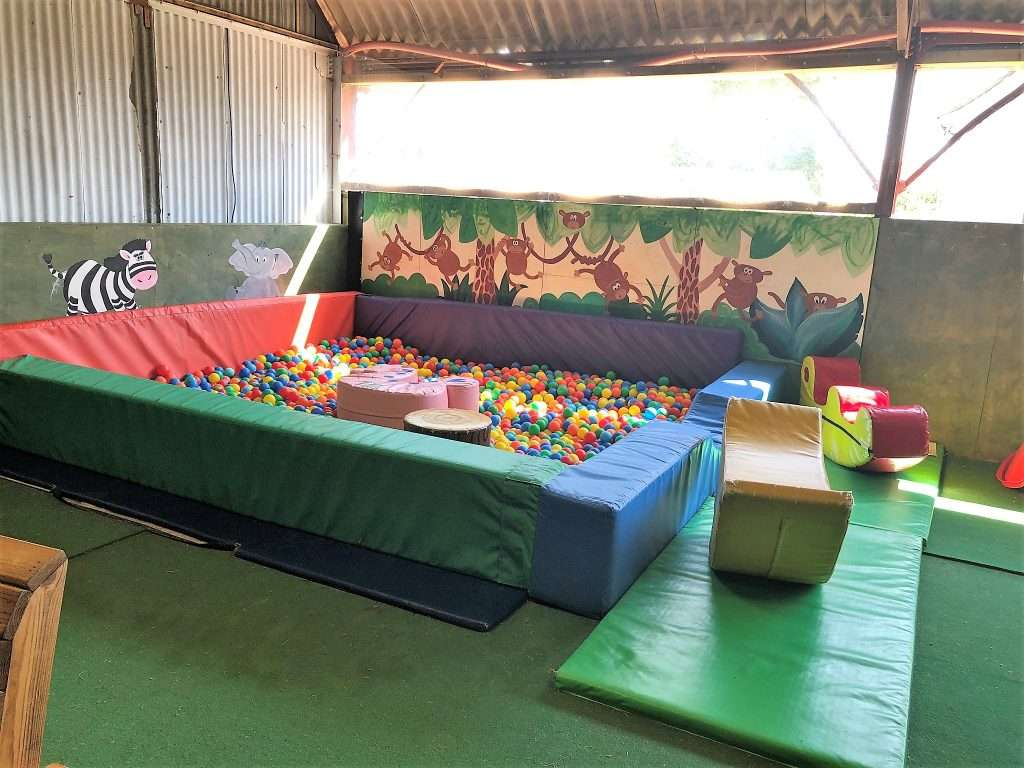 Raglan Farm Park Review - Toddler Ball Pit