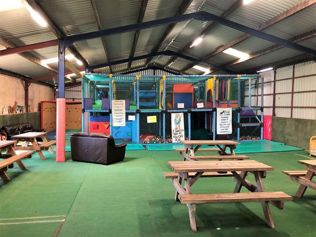 Raglan Farm Park Review - Older toddler soft play