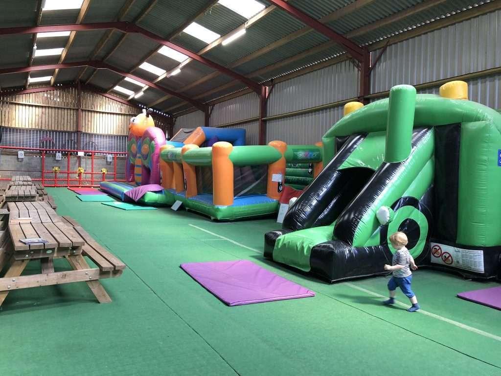 Raglan Farm Park Review - Bouncy Castles
