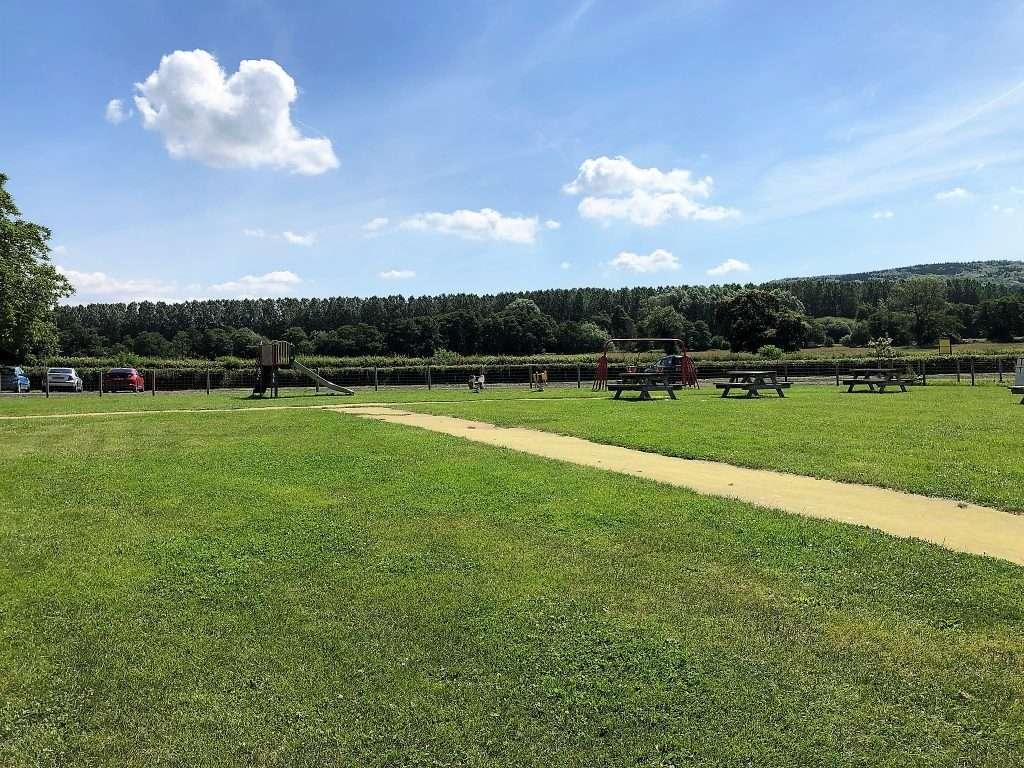 Raglan Farm Park Review - Outdoor playground