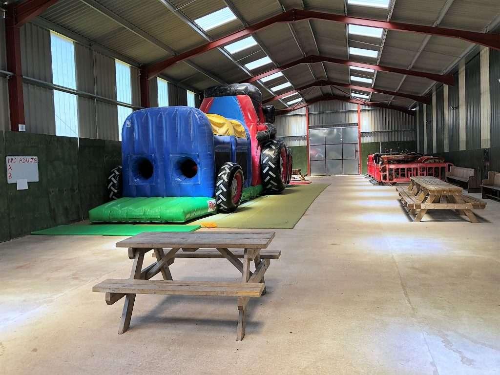 Raglan Farm Park Review - Massive Bouncy Castle