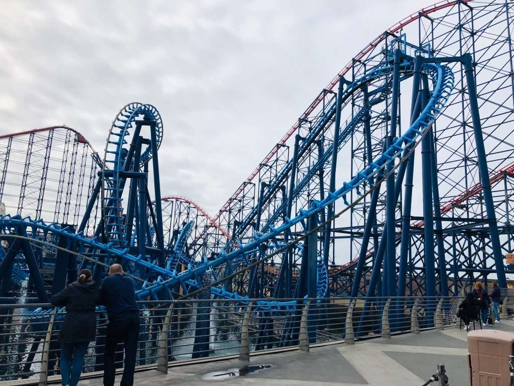 Blackpool Pleasure Beach Rollercoaster Rides Review