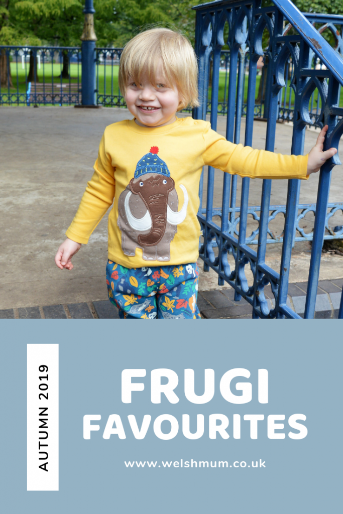 Our favourite picks from the Autumn Winter 2019 range at Frugi, who make organic baby, toddler and kids clothing.