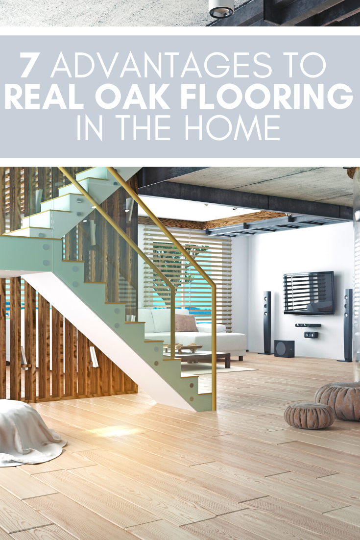 If you're thinking about flooring options, check out these 7 advantages to having real oak flooring in your home.