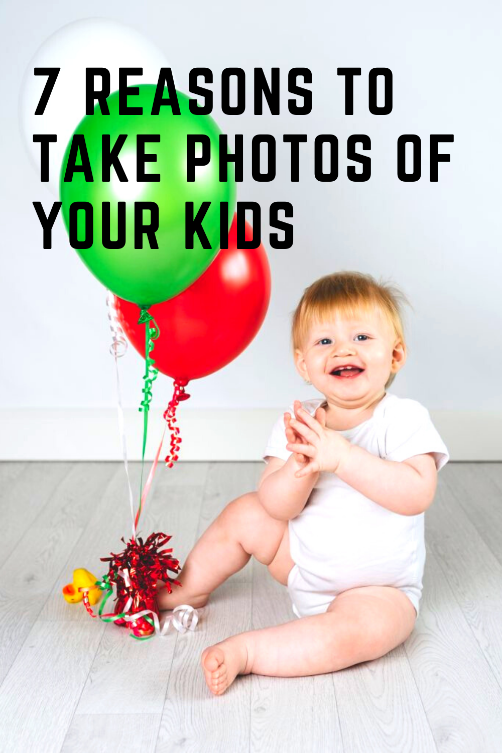 These seven reasons to take photos of your kids will have you reaching for the camera to capture happy memories and help you think about photos in a different way.