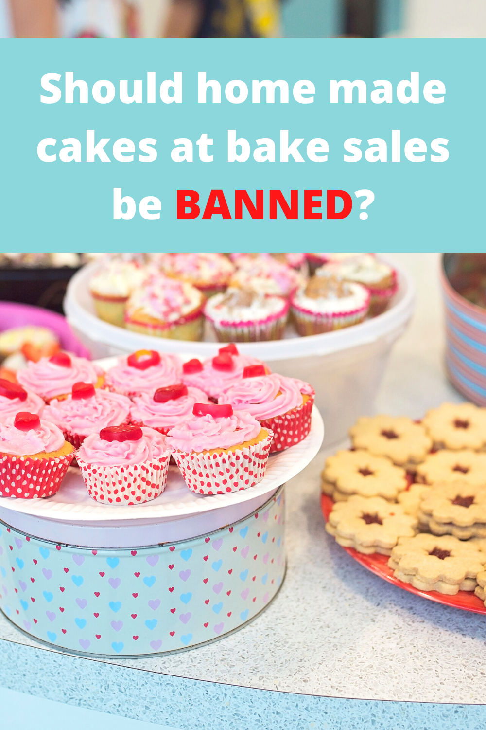 Should home made cakes at bake sales be banned? Is food hygiene at home a problem? How do people with allergies cope with bake sales? Find out what people think.