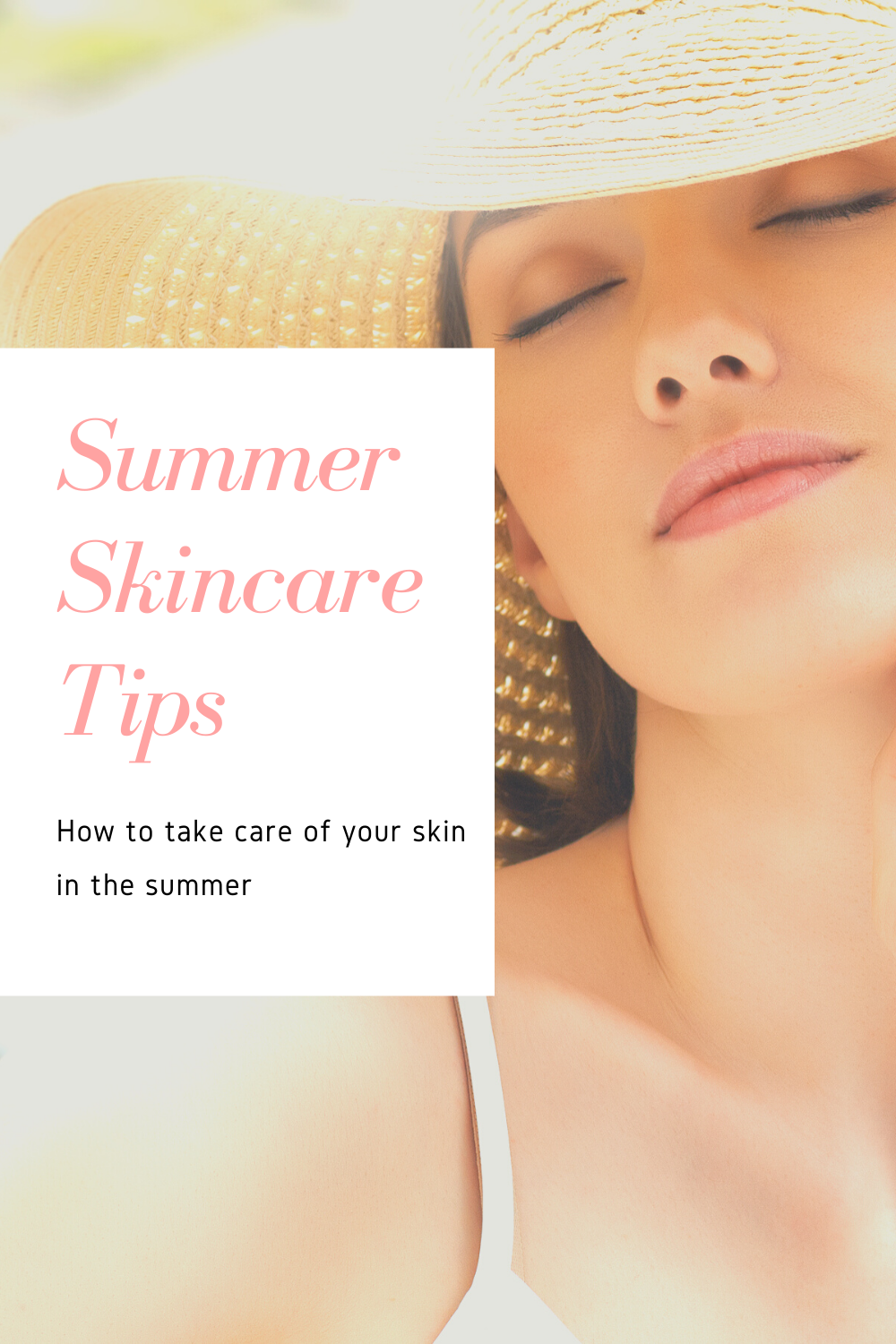 Check out my summer skincare tips and suggestions for products which will really improve your summer skincare routine!