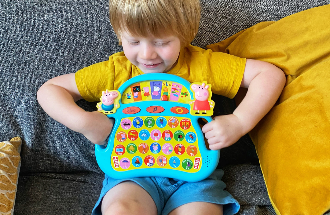 Preschool Educational Fun with Peppa Pig Electronic ...